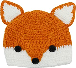 knitted animal beanie hat