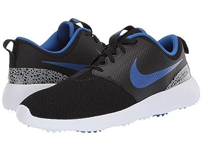 Nike Golf Roshe G (Black/Game Royal/White/Cement Grey) Men