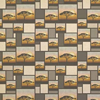 African Plains Kraft Present Gift Wrap Wrapping Paper