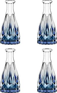 Lewondr Glass Diffuser Bottles, 4PCS 5.7