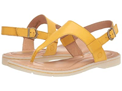 Born Taylor (Yellow Full Grain Leather) Women