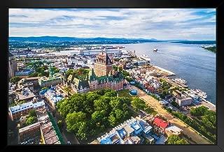 quebec city aerial view