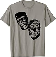 Classic Halloween Monster Poster Horror Movie Werewolf T-Shirt
