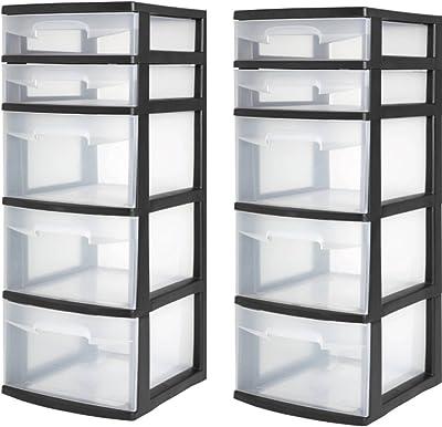 Amazon.com: NingNing Clothing Storage Box, Simple Foldable ...