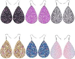 Best glitter teardrop earrings Reviews