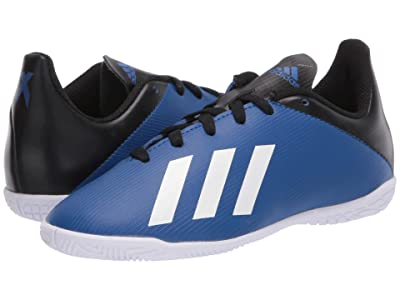 adidas Kids X 19.4 IN J Soccer (Little Kid/Big Kid) (Team Royal Blue/White/Black) Kids Shoes