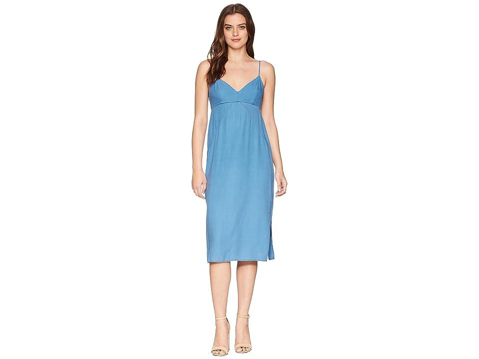 Splendid Double Layer Cami Dress (Medium Wash) Women