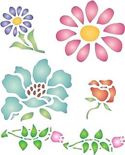 FLOWER STENCIL (size: 5
