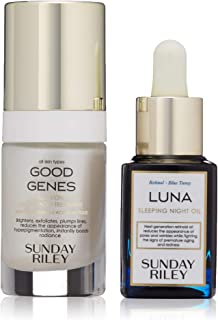 sunday riley good genes and luna oil