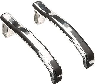 All Sales 905 Polished Billet Aluminum Plain Door Handles - Set of 2