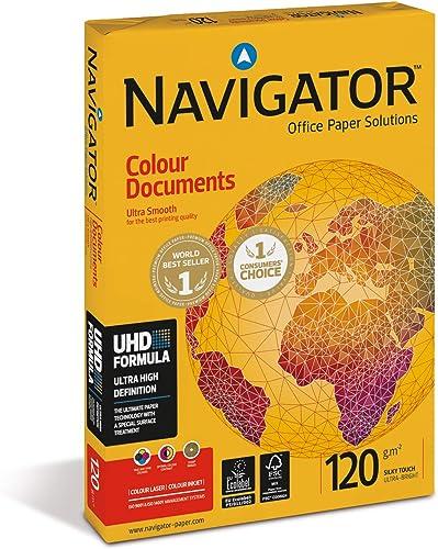 Unipapel Paquet de 250 Papiers pour couleur documents 120 g A4