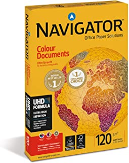 Navigator Colour Documents, Papel Especial de Copiadora, A4, 12 g.m.2, 250 de hojas