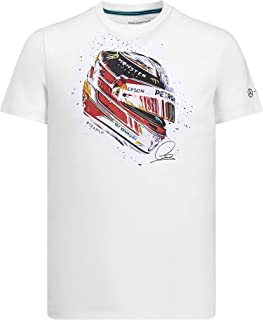 Petronas Lewis Hamilton Helmet Tee Shirt