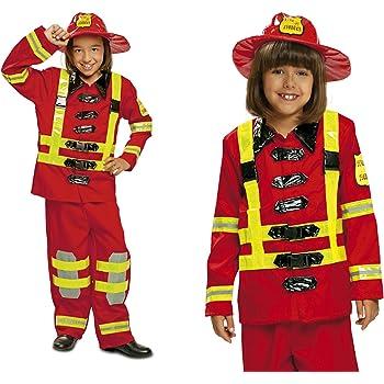 My Other Me Me 200909 - Disfraz de bombero para niños, Talla 3-4 ...
