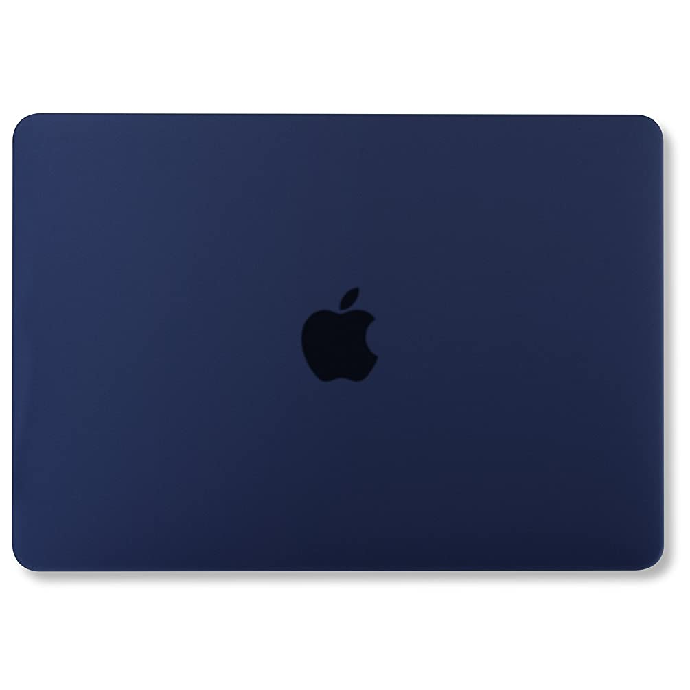 GMYLE MacBook Pro 13 Case 2017 & 2016 Release A1706/A1708, Plastic Hard Case Shell Cover for Apple New MacBook Pro 13 inch with/Without Touch Bar and Touch ID - Navy Blue