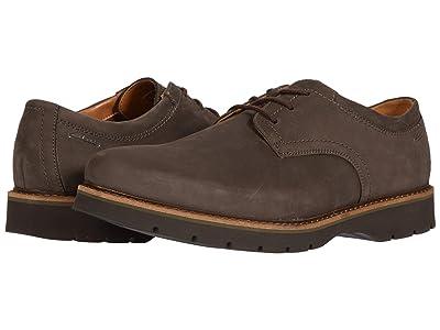 Clarks Bayhill Plain (Dark Brown Nubuck) Men
