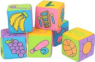 Zabawka do zabawy, cyfry Safe Soft Number dla niemowląt, klocki do budowy, owoce, jasne kolory, do ogólnej aktywności, na ...