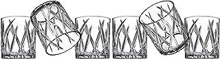 Godinger Double Old Fashioned Whiskey Glasses Barware - Set of 6