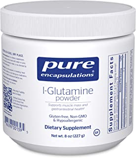 Pure Encapsulations l-Glutamine Powder | Supplement for Immune and Digestive Support, Gut Health and Lining Repair, Metabo...