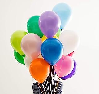 Sunshine Partybox 100 Assorted Matte Balloons