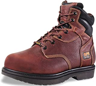 "Timberland Pro Men's 6"" Internal Metguard Boot,Brown,11 M"