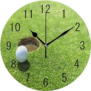 Best large golf wall clock Reviews