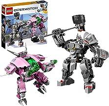 LEGO Overwatch - D.Va & Reinhardt, Juguete