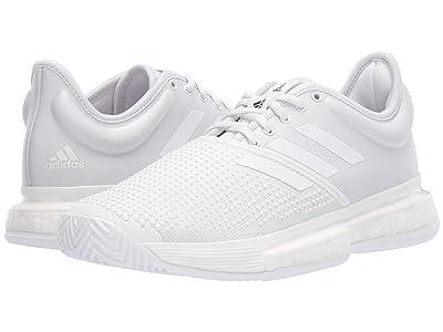 adidas SoleCourt Boost X Parley (White/White/Core Black) Women