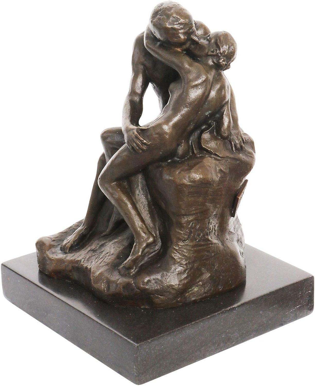 Aubaho Bronzeskulptur der Kuss nach Rodin Rodin Rodin Liebespaar Bronze Skulptur 14cm Sculpture B00PFTANHQ 57e098