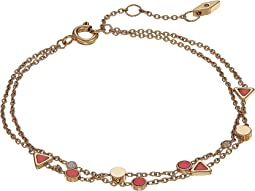Triangle Coral Bracelet