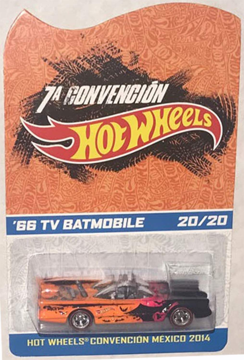 Buy Hot Wheels Batmobile 1966 TV Series 2014 Mexico Convention Rare 20 Made  Worldwide Online in Taiwan. B07HXRQYLX