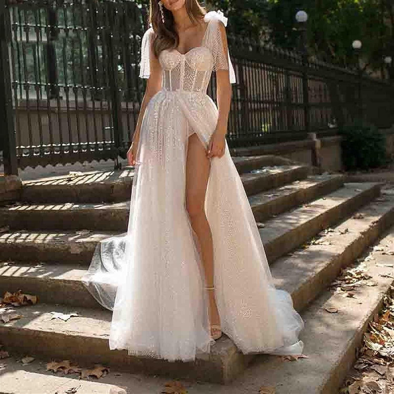 Dress Boho Maxi sale Female Transparent Inexpensive Dresses Lady Elegant Ev