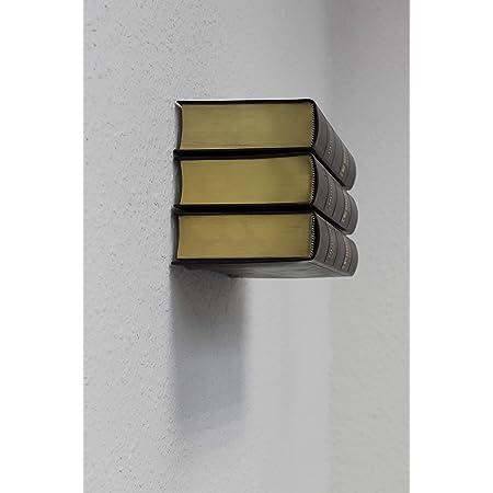 Estantería de metal invisible, ideal para libros, set de 5 ...