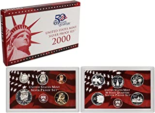 2000 S Silver Proof Set