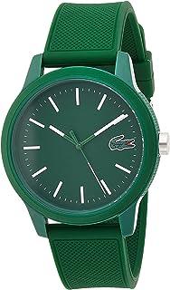 Men's TR90 Japanese Quartz Watch with Rubber Strap,...