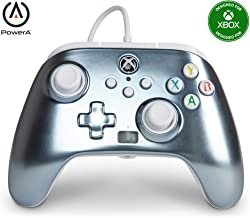 PowerA Enhanced Wired Controller for Xbox Series X|S - Metallic Ice, Gamepad, Wired Video Game Controller, Gaming Controll...