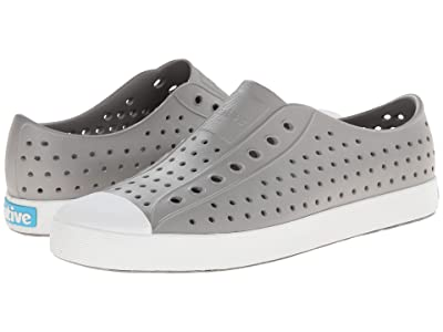 Native Shoes Jefferson (Pigeon Grey/Shell White) Shoes