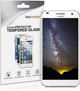 kwmobile Pellicola protettiva compatibile con Huawei Ascend G7 - Protezione schermo in vetro senza bolle d'aria