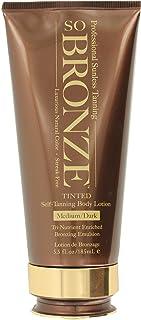 Hempz Hempz so bronze sunless body lotion, brown, sweet peach, medium/dark, 5.5 fluid ounce, 5.5 Ounce