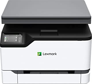 Lexmark MC3224dwe Color Multifunction Laser Printer with Print, Copy, Scan, and Wireless Capabilities, Two-Sided Printing with Full-Spectrum Security and Prints Up to 24 ppm (40N9040)