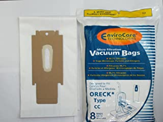 For ORECK vacuum ALL XL & TYPE CC (24 BAGS + 3 BELTS)