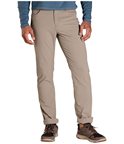 Toad&Co Five-Pocket Rover Pants Lean (Dark Chino) Men