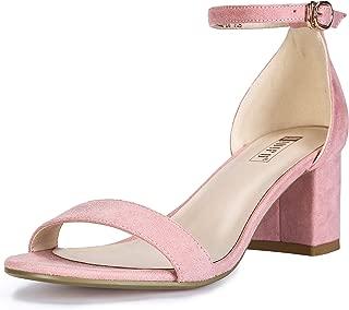 Women's IN2 Cookie-LO Low Heel Ankle Strap Dress Pump Sandal