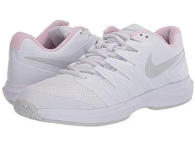 Nike Air Zoom Prestige (White/Photon Dust/Pink Foam) Women