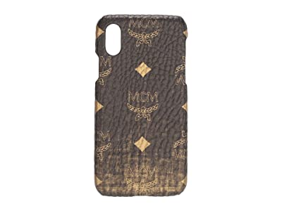 MCM Gradation Visetos Smart Phone Case (Gold) Handbags