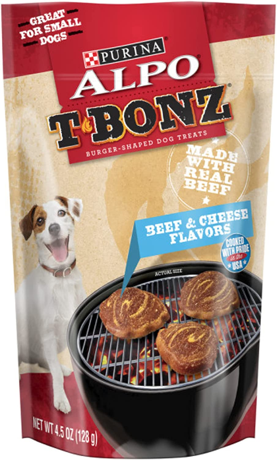 Purina ALPO TBonz Adult Dog Treats - Sale Special Price 5 4.5 Latest item Pouches Pack of oz.