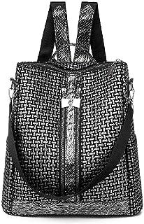 IANXI Home Women Top Handle Handbags Shoulder Bag PU Leather Tote Bags Color : Red