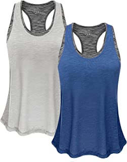 FAFAIR Women Tank Top with Built in Bra, Lightweight Yoga Camisole for Workout Gym Fitness - Eco-Friendly Packaging Design