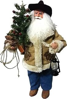 Santa's Workshop 6795 Cowboy Santa Figurine, 18