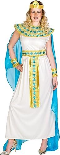 en promociones de estadios Dressforfun Disfraz Disfraz Disfraz de Cleopatra para muñer reina diosa   Vestido con cinta de pelo muy extravagante, añorno de cabeza egipcio & añorno para la muñeca (M   no. 300195)  precios razonables